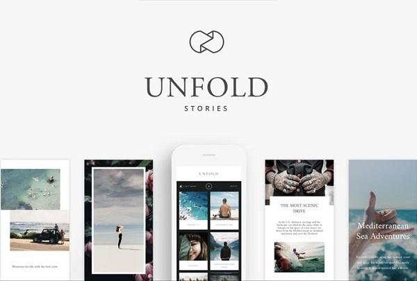 Download Unfold Fullpack Apk, Story Maker dan Instagram Template Editor