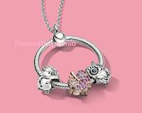 Logo Concorso Pandora ''E tu cosa ami?'' vinci gratis 3 esclusivi gioielli