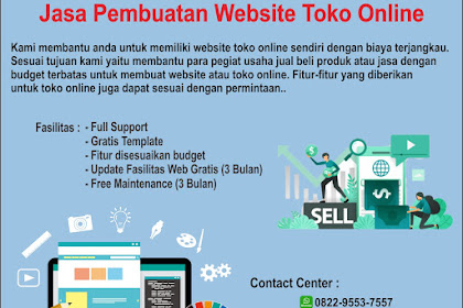 Paket Pembuatan Website Toko Online di Tirta Web Online