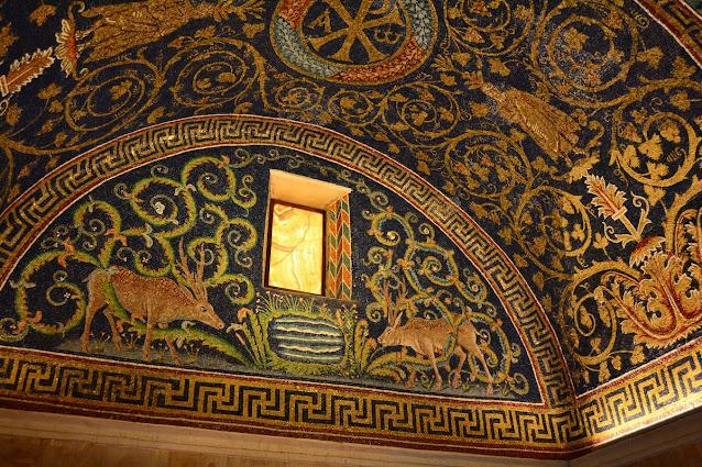 mosaïques Galla Placidia Ravenne