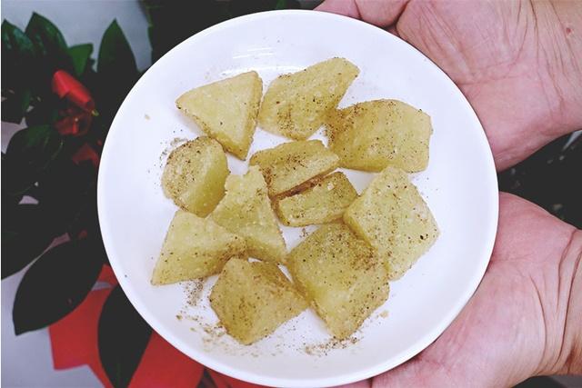 煜駿素食坊炸碗豆粉