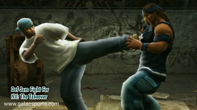 Keren! Game PPSSPP Def Jam Fight For Ny: The Takeover