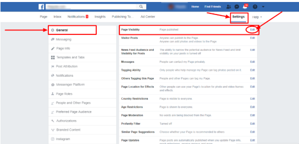 How To Make Facebook Page Private<br/>