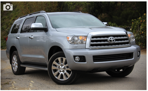 2018 toyota sequoia review cars auto express new and used car reviews news advice. Black Bedroom Furniture Sets. Home Design Ideas