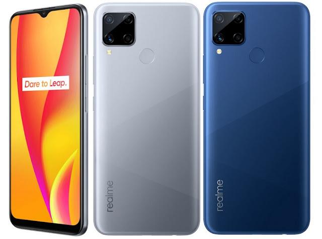 Realme C15 Launched With 6.5inch HD+ Display, 4GB LPDDR4x RAM, 13MP Quad Camera, 6000mAh Battery & More