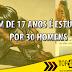 """TOP NEWS """"JOVEM 17 ANOS É ESTUPRADA POR 30 HOMENS"""""""