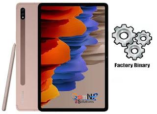 Samsung SM-T875 Combination File Galaxy Tab S7 Free