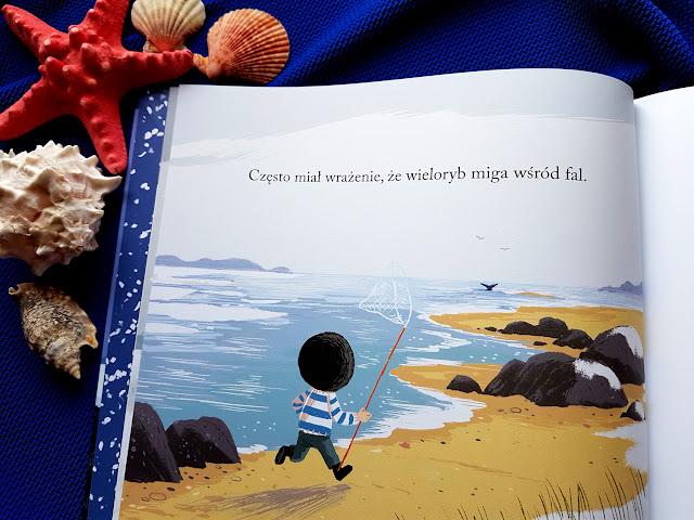 Powrót wieloryba - Wydawnictwo Znak Emotikon - Benji Davies - książki dla dzieci - książeczki dla dzieci - blog rodzicielski - blog parentingowy