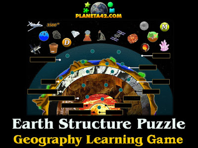 Earth Structure Puzzle