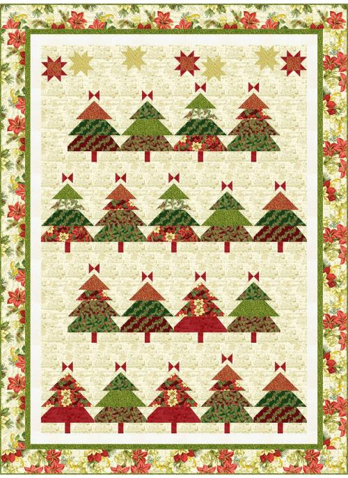 Quilt Inspiration Free Pattern Day Christmas Quilts Part 1 Trees