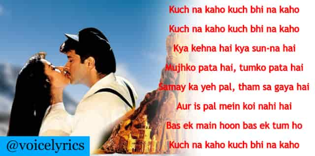 Kuch Na Kaho Lyrics