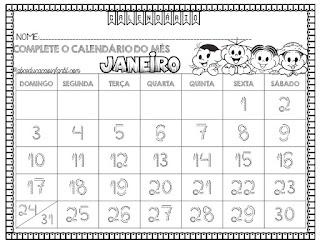 Calendários de 2021 -  pontilhados