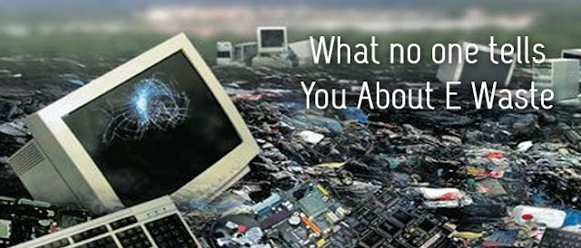 what now one tells you about e waste - Ecogreen It Recycling