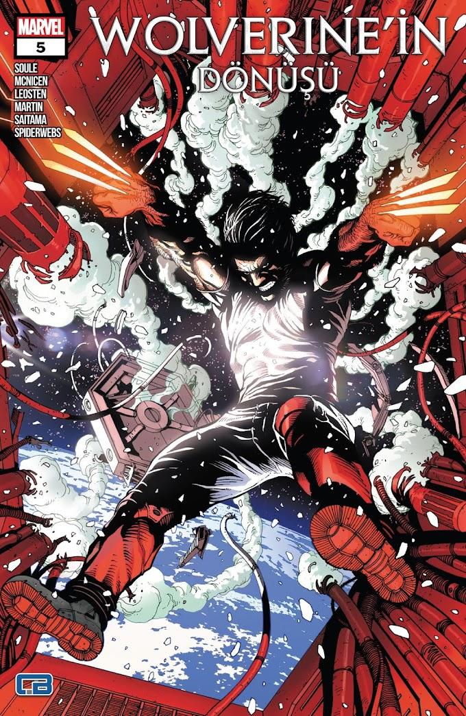 Wolverine'in Dönüşü #05 (Saitama & Spiderwebs)