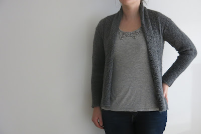 grey alpaca cardigan knitting pattern