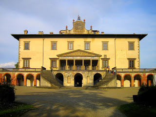The Villa Medici at Poggio a Caiano, where visitors can view apartments used by the Medici family