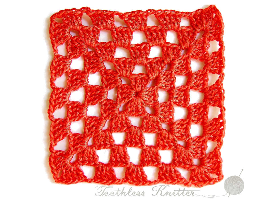 Granny Squares and Motifs: Pattern 2 / Granny Squares i Motywy: Wzór 2