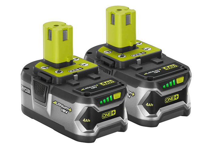 Ryobi high capacity battery 2 pack