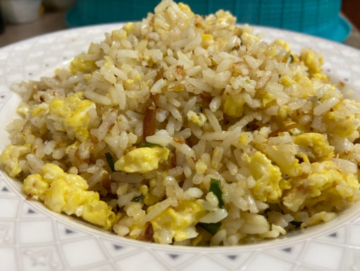 resipi nasi goreng, masakan mudah disediakan, nasi goreng, orang kampung, hidangan waktu lapar