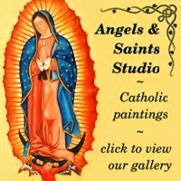 Angels & Saints Studio Catholic Art for sale