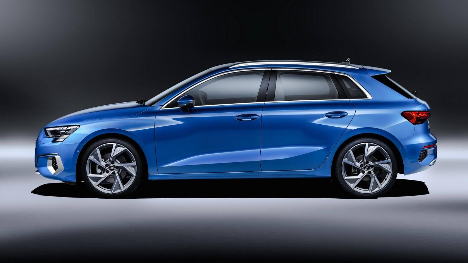 The new gen Audi A3 2021, is aggressive despite its small size