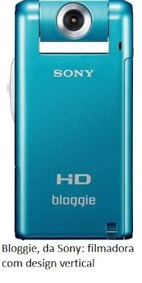 filmadora Bloggie da Sony