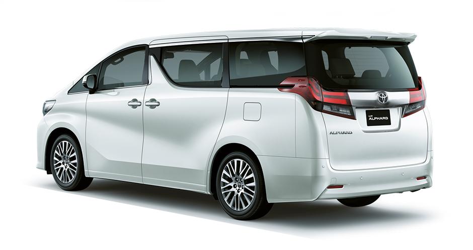 All New Alphard 2.5 X Immobilizer Grand Avanza Spesifikasi Dan Harga Toyota 2 5 Astra Indonesia Eksterior Belakang