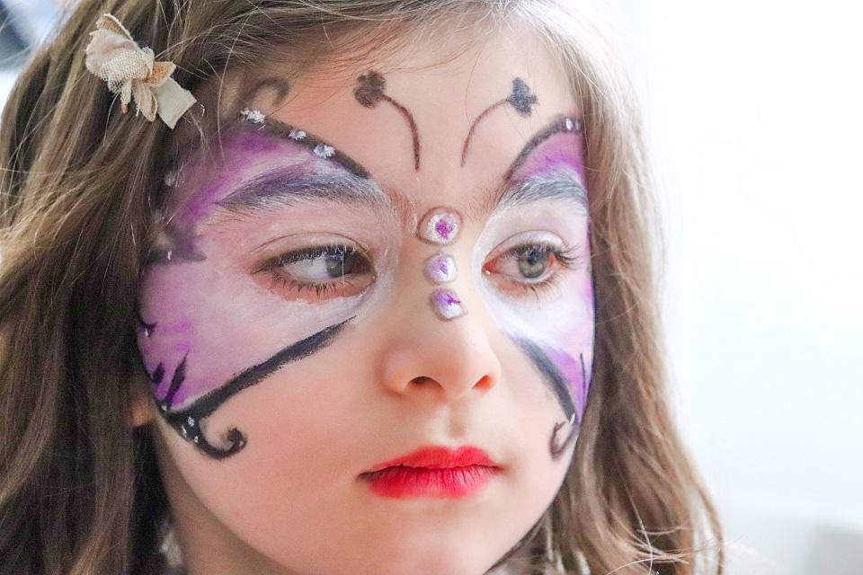 annaelle tuto maquillage papillon