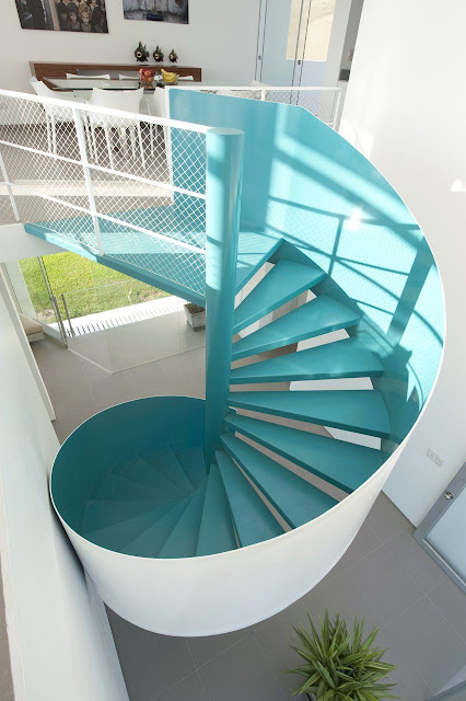 helical staircase design