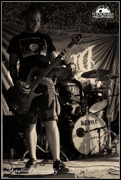 Guillaume Triplet & Anthony @Hybrid Viscery, Metal Corporation Fest 2015 - METAL, MCP Apache, Fontaine-L'Évêque, Belgique 29/08/2015