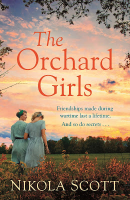 The Orchard Girls by Nikola Scott book cover