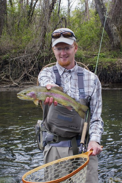 Nice Clinch River rainbow trout