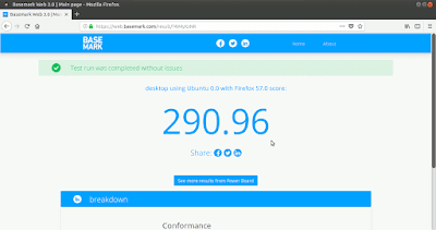 BaseMark Web 3.0 Firefox origen