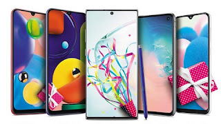 Samsung Galaxy Series Smartphone get update Android 10 operating system