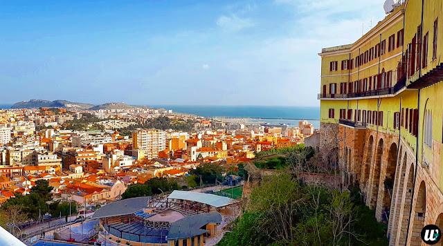 City view, Cagliari | Sardinia, Italy | wayamaya