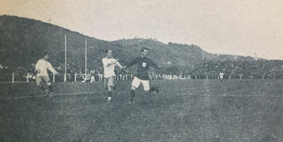 Chile y Brasil en Campeonato Sudamericano de 1920