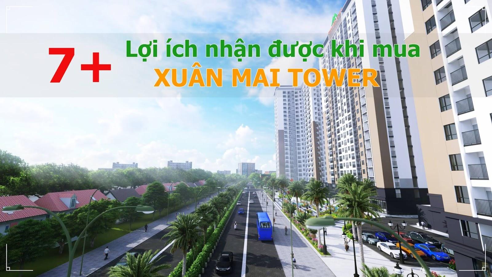 Xuân Mai Tower sở hữu hạ tầng giao thông đồng bộ