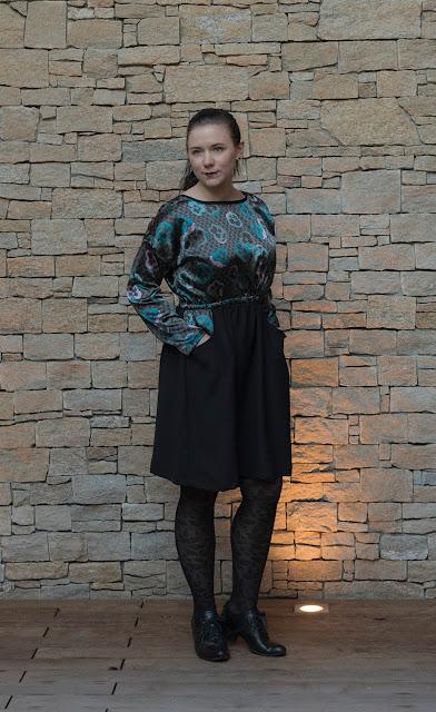 Sewing pattern Lou Box Dress 2 by Sew DIY