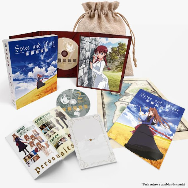 Coalise muestra la Edición Premium de Spice and Wolf