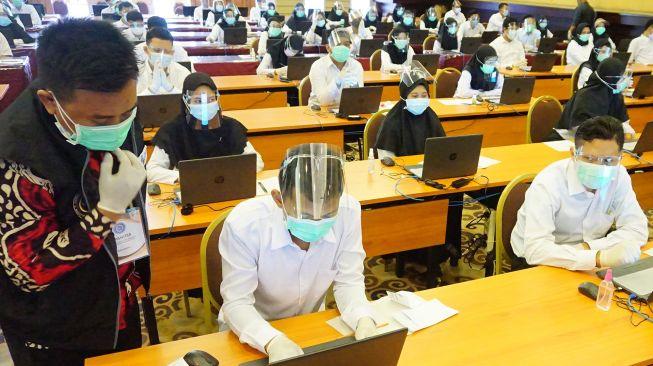 Ilustrasi Pelaksanaan Tes CPNS dan PPPK