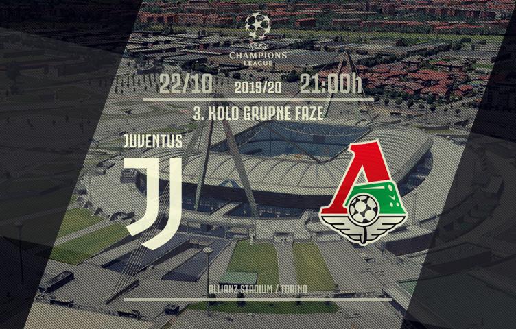Liga prvaka 2019/20 / 3. kolo / Juventus - Lokomotiv, utorak, 21h
