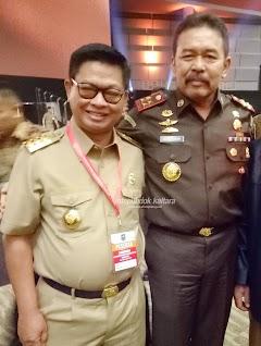 Gubernur Hadiri Rakornas Pemerintah Pusat dan Forkopimda di SICC Bogor