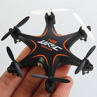 Spesifikasi JJRC H18 si Micro Hexa-Copter Drone - OmahDrones