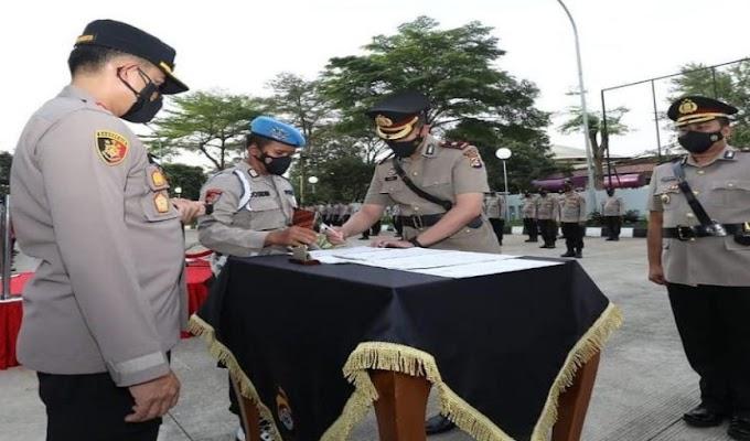 Kapolresta Tangerang Pimpin Sertijab Kabag Ops dan Kasat Samapta