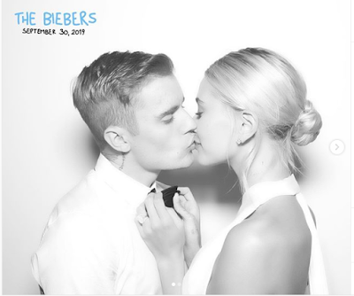 """Justin Bieber Proud Of Her Wife Says """"My Bride Is Fire"""" As He Shares Lovely Photos From Their Lavish Wedding Ceremony"""