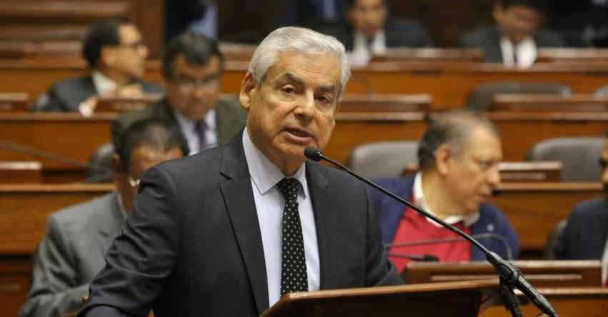 EN VIVO: Jefe del Gabinete sustenta esta mañana cuestión de confianza en el Congreso de la República