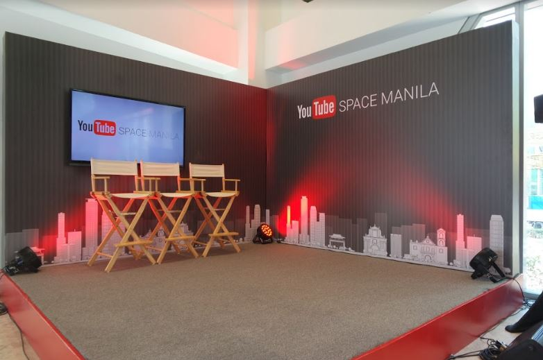 YouTube Pop-up Space Manila