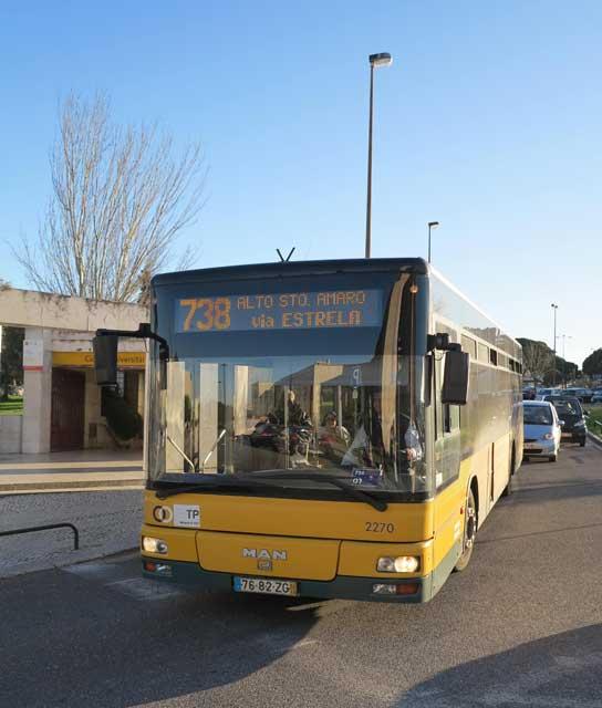 738 Lisbon Bus