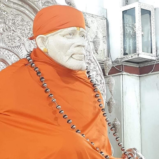 Orange color with sai baba images 2020