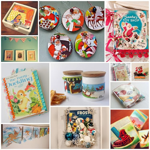 11 Ways to Upcycle Little Golden Books